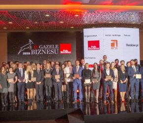 Gala E-Gazel Biznesu.foto Wojciech Robakowski16.11.2016 Poznan