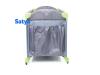 satya - łóżeczko turystyczne vegas XIX grey bok