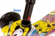 satya - hulajnoga mini scooter yellow 9